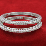All diamond Bangles